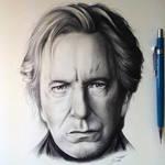 Alan Rickman - Tribute Drawing