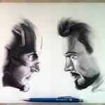 Captain America: Civil War - Drawing