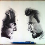 Captain America: Civil War - Drawing