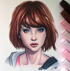 Max Caulfield - Life is Strange - Copic Drawing