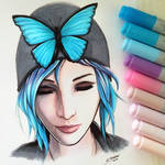 Chloe Price - Life is Strange - Copic Drawing