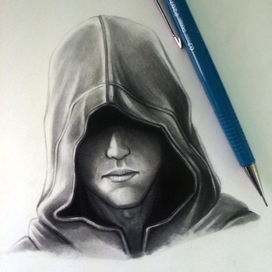 Hood Drawing Study By LethalChris On DeviantArt