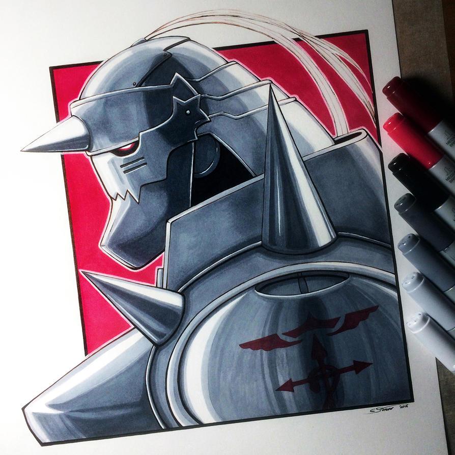 Alphonse Elric - Fullmetal Alchemist Fan Art by ...