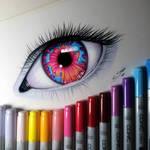 Opal Eye Drawing