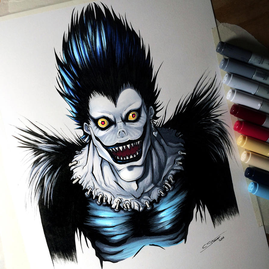 Ryuk from Death Note - Drawing by LethalChris on DeviantArt