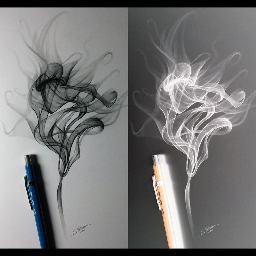 how to make smoke art