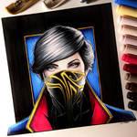 Emily Kaldwin - Dishonored 2 Drawing