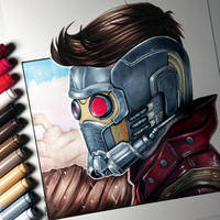 Star-Lord Drawing - Guardians of the Galaxy