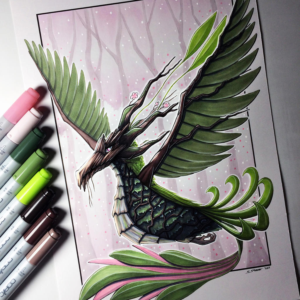 earth phoenix drawing by lethalchris on deviantart