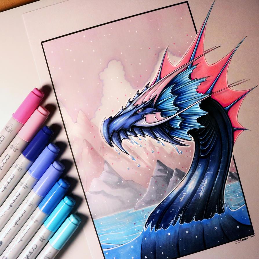 Dragon Drawings: LethalChris (Christopher Straver)
