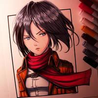 Mikasa Ackerman Drawing