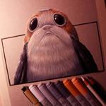 Porg Drawing - Star Wars: The Last Jedi Fan Art