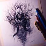 Smoke Assassin Drawing