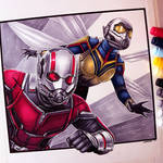 Ant-Man and the Wasp Drawing