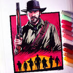 Red Dead Redemption 2 Drawing