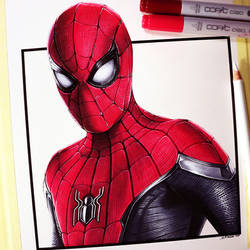 Spider-Man: Far From Home - Fan Art Drawing by LethalChris