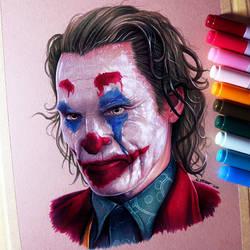 Joker - Joaquin Phoenix - Fan Art Drawing