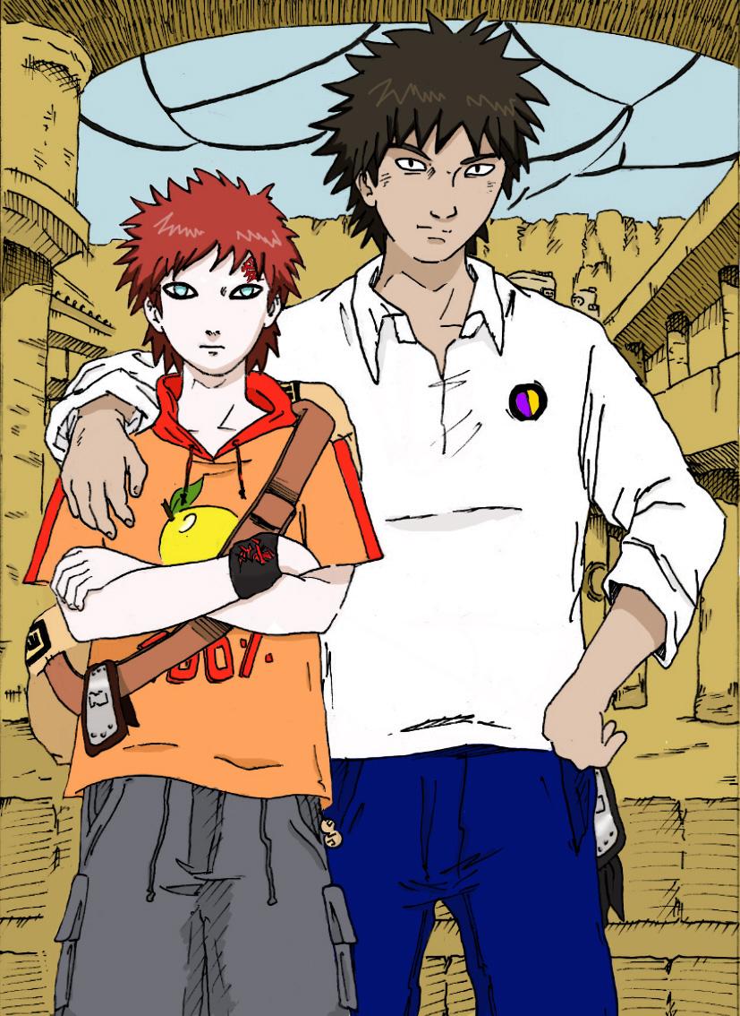 Gaara And Kankuro