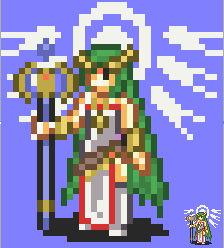 Smash Emblem: Palutena Fire Emblem-style
