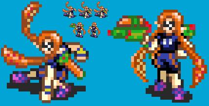 Smash Emblem: Inkling Girl FE-style by ukyoluvr