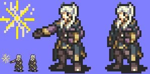 Smash Emblem: Robin/Reflet FE GBA-Style by ukyoluvr
