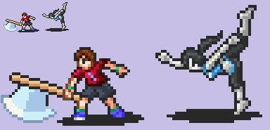 Smash Emblem: Animal Crossing + Wii Fit
