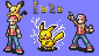 Smash Emblem: Pikachu