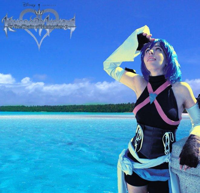 Aqua Kingdom Heart 3 by Madi-Scarlet on deviantART