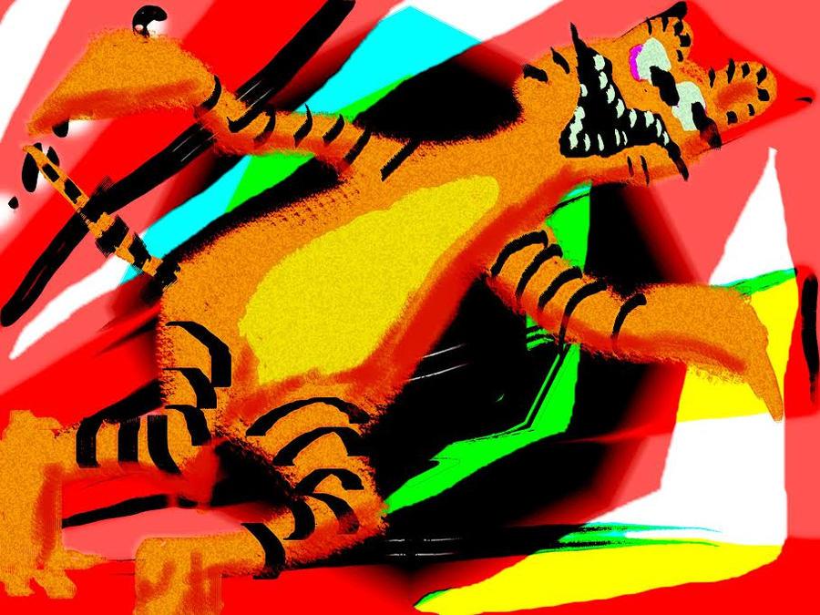 Garfield by Henry Blat by BernardFazling