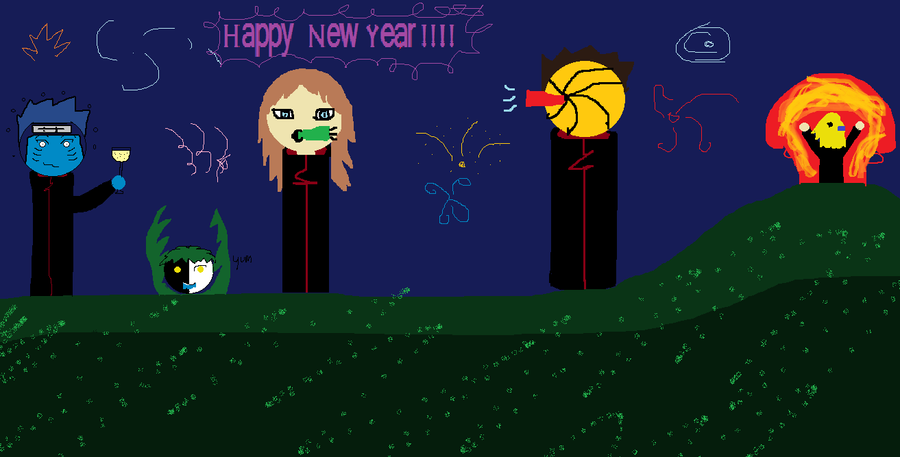 HAPPY NEW YEAR by kisamelover34