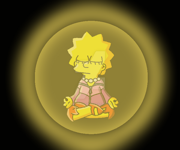 Lisa's Meditation by terry12fins24