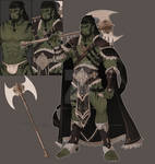 Orc Warrior (AUCTION) closed