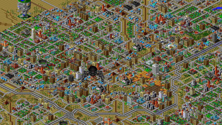 SimCity 2000 by TheGouldFish
