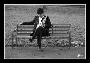The lonely musician