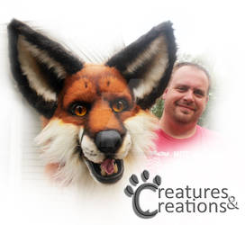 new foam head with Creatures and Creations