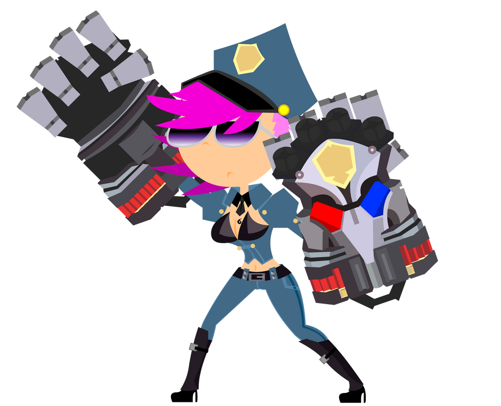 Officer Vi by PhenomenonTucker