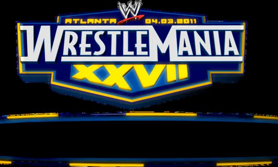 WWE WRESTLEMANIA 27 GRAPHIC