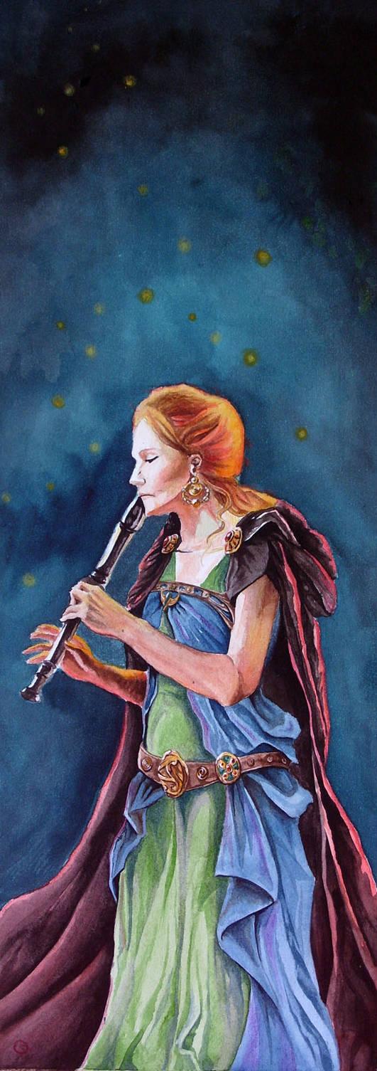 the fireflies' dance by darktear83