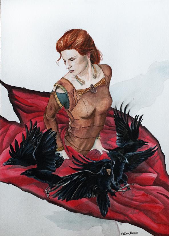 beyond the  veil IV- a Viking saga by darktear83