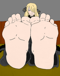 Cynthia's clean soles by Murati2882 (colored) by totoofzefrance