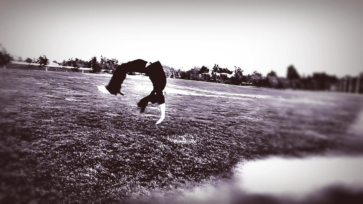 Backhandspring by KayserTXR
