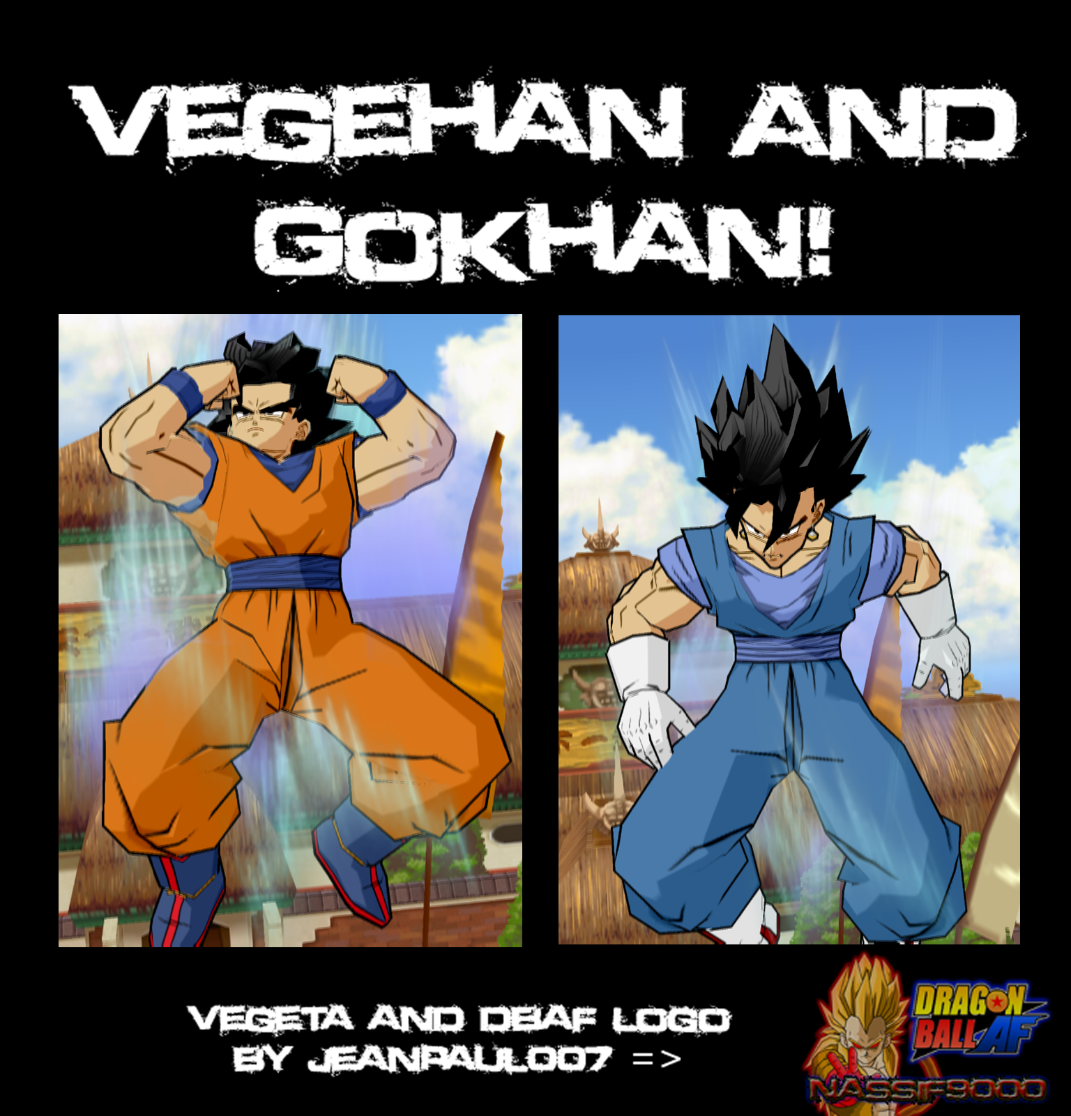 Ultimate Gokhan And Ultimate Vegehan by Nassif9000
