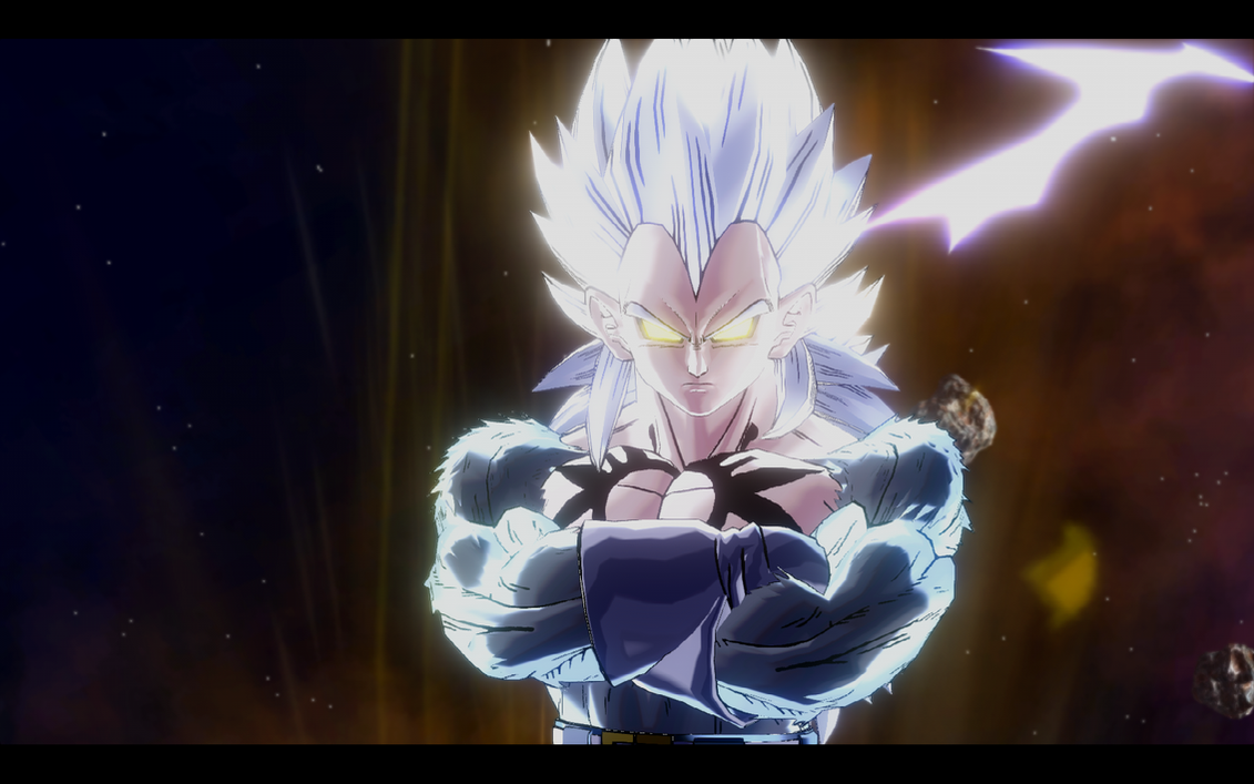 King Vegeta Super Saiyan 5 DBXV MOD: God Orochi S...