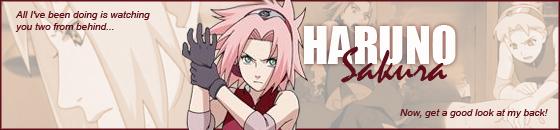 sucesores de los sannin legendarios - Página 2 Haruno_Sakura_Banner_2_by_cynicalkunoichi