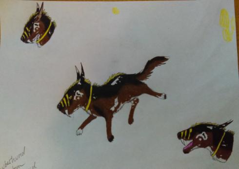 Zauberhund Commission by FiveHorses