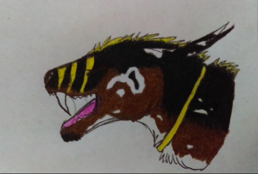 Zauberhund Commission Close Up by FiveHorses