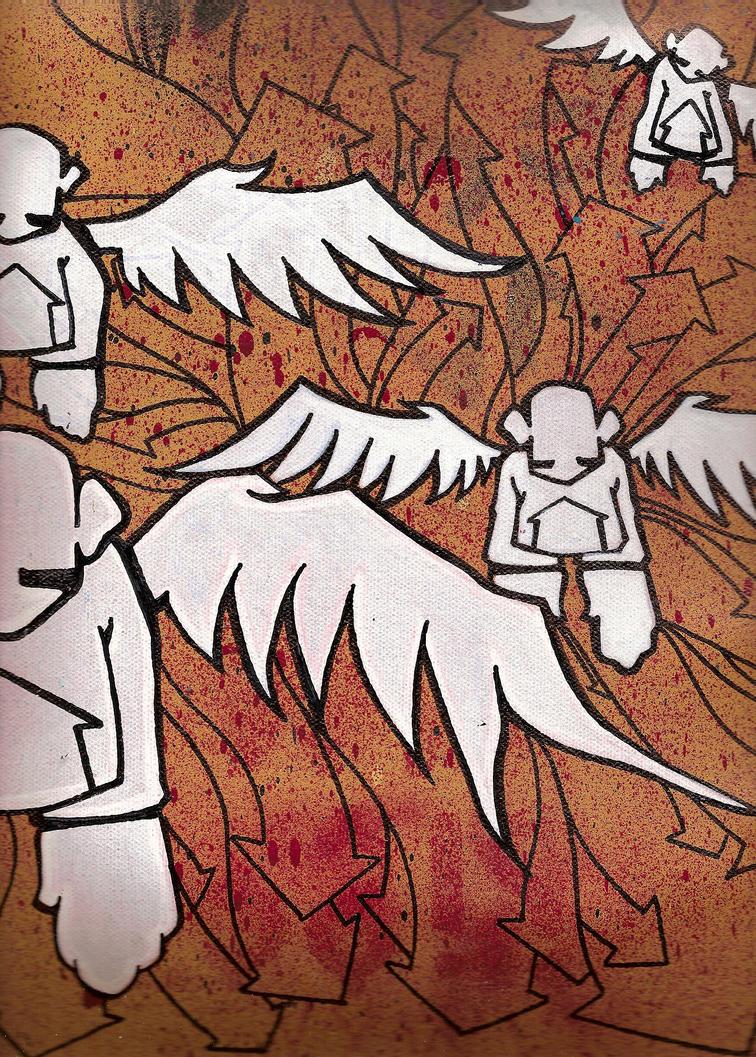 white angels by davemass