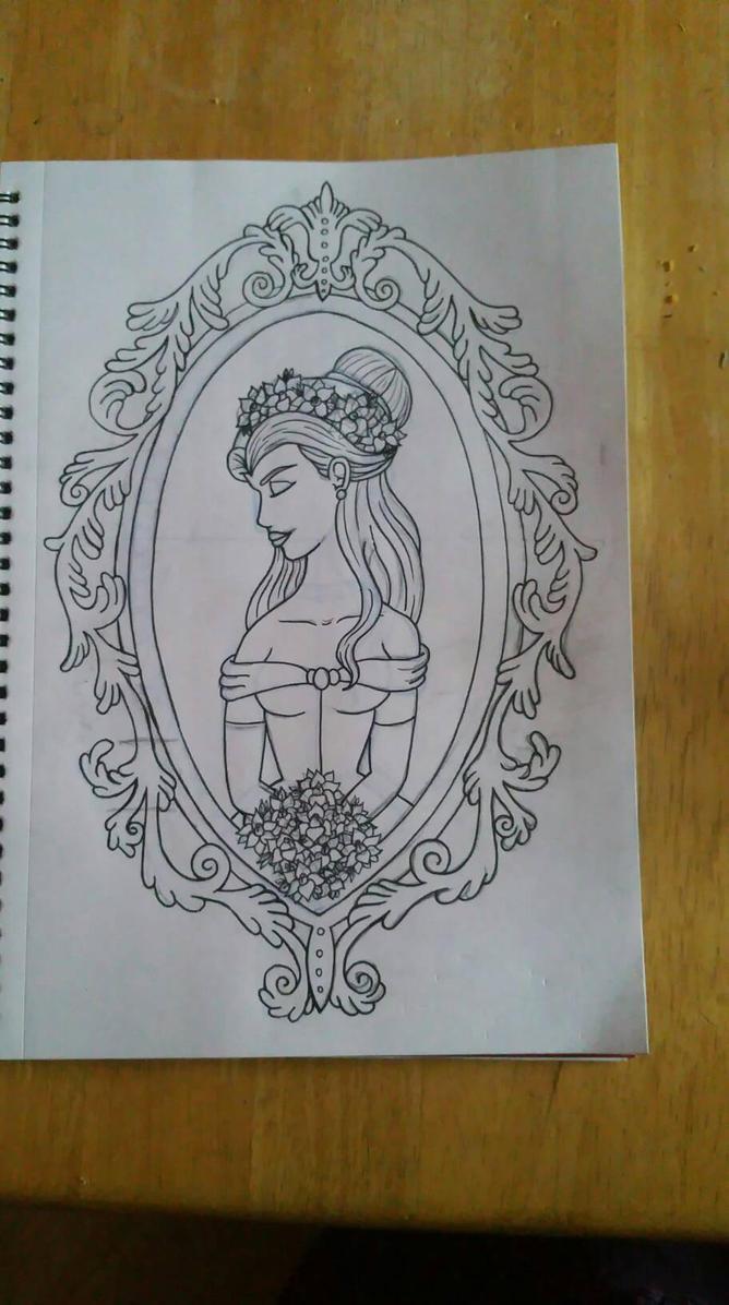 Belle frame WIP by BlackheartedPhoenix