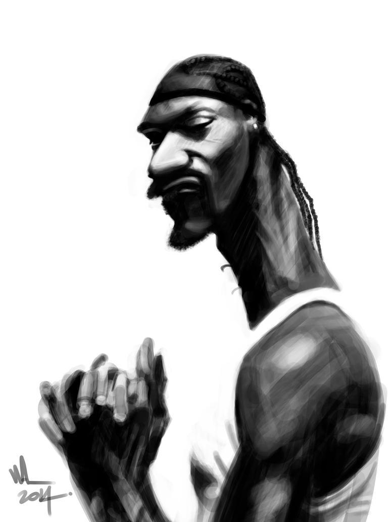 Snoop Dogg Caricatura digital. by WALHH