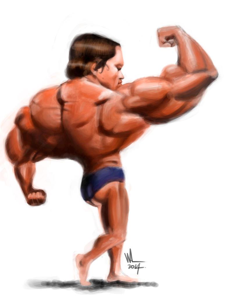 Arnold Schwarzenegger, digital. by WALHH
